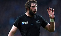 Sam Whitelock was part of the winning Crusaders side