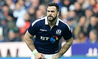 Alex Dunbar has played 31 Tests for Scotland