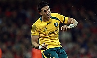 Christian Lealiifano last played for Australia in 2016
