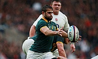Cobus Reinach scored the final try for South Africa