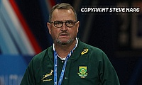 Swys de Bruin joined Springboks as attack coach in 2018