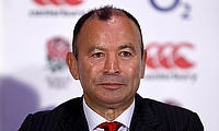 England coach Eddie Jones was unhappy with referee Pascal Gauzere's decision