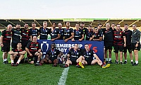 Saracens are crowned the Premiership 7s winners 2019