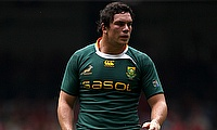 Francois Louw	returns to the South Africa line-up