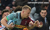 Alex Dombrandt was one of the try-scorer for Harlequins