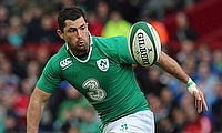 Rob Kearney scored the opening try for Ireland
