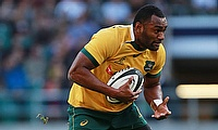 Tevita Kuridrani was named the player of the match