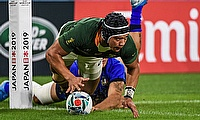 Cheslin Kolbe has been one of the stand-out performers at RWC2019