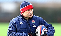 Eddie Jones is pleased with England's performance
