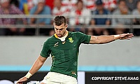 Handre Pollard has contributed 421 points from 46 Tests for South Africa