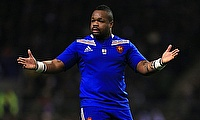 Mathieu Bastareaud scored the opening try for Barbarians