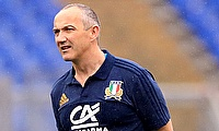 Conor O'Shea recently resigned from Italy head coach role