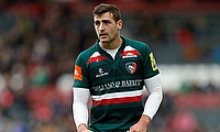 Jonny May scored two tries for Leicester Tigers
