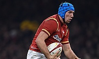Justin Tipuric sustained an ankle injury