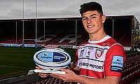Louis Rees-Zammit named Gallagher Premiership Rugby Player of the Month