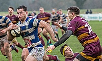 Seven-try Caldy race clear after rivals stumble