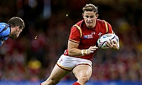 Hallam Amos has played 22 Tests for Wales