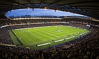 Murrayfield Stadium in Scotland