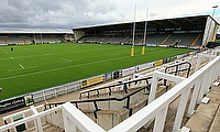 Kingston Park Stadium - the home of Newcastle Falcons