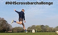 Watch: Will Hooley and Sam Leeming on the NHS Crossbar Challenge