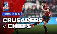 Video Highlights: Super Rugby Aotearoa Game 6 - Jordan double sets up Crusaders win