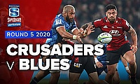 Video Highlights: Super Rugby Aotearoa Game 7 - Crusaders end Blues' winning streak