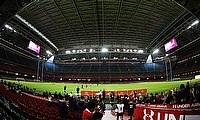 The Principality Stadium has been converted into a temporary hospital