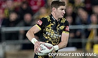Jordie Barrett kicked three conversions for Hurricanes
