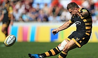 Jimmy Gopperth kicked three conversions for Wasps