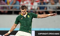 Handre Pollard has played 48 Tests for South Africa