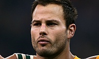 Francois Hougaard scored two tries for the Warriors