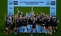 Exeter become English champions after beating Wasps 19-13 at Twickenham