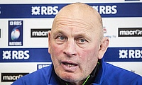Fiji head coach Vern Cotter