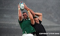 James Ryan (left) captained Ireland against England