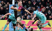 Alex Dombrandt scored two tries for Harlequins
