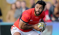 Billy Vunipola played all 80 minutes in the game