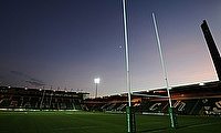The game was scheduled to take place at Franklin's Gardens on 13th February