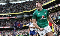 Jacob Stockdale missed the opening three rounds due to knee injury
