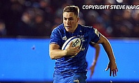 Jordan Larmour scored two tries for Leinster