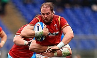 Alun Wyn Jones is the most capped player in international rugby