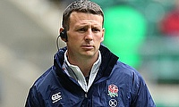 Simon Armor was appointed the attack coach of England in 2020