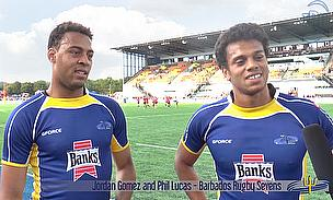 Jordan Gomez and Phil Lucas talk Barbados Sevens
