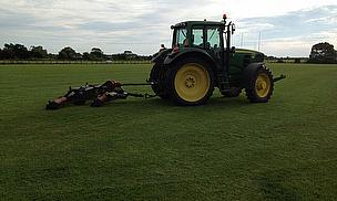 Groundcare at Tarleton Rugby Club