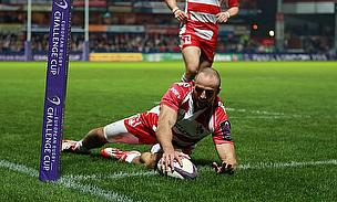 Charlie Sharples touches down