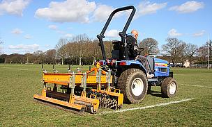 SISIS Quadraplay and Multitiner has helped Brentwood Rugby Club achieve their best playing surface for nearly 30 years