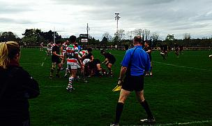 Action as Stockport make Ampthill & District work hard for their win