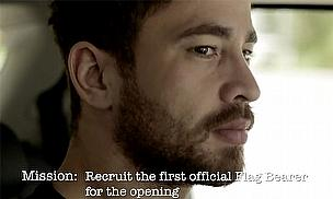 Danny Cipriani is on the look out for the first official flag bearer