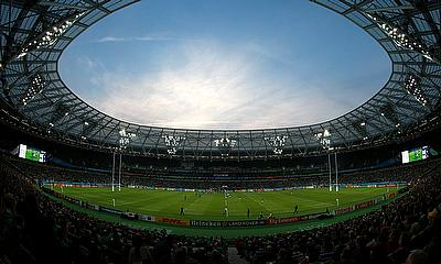 Claims were made that a biting incident had occurred at the match at The Olympic Stadium, pictured here