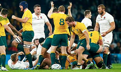 England were well and truly second best against Australia, especially at ruck-time