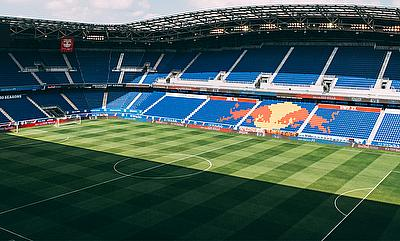 The Red Bull arena in New Jersey